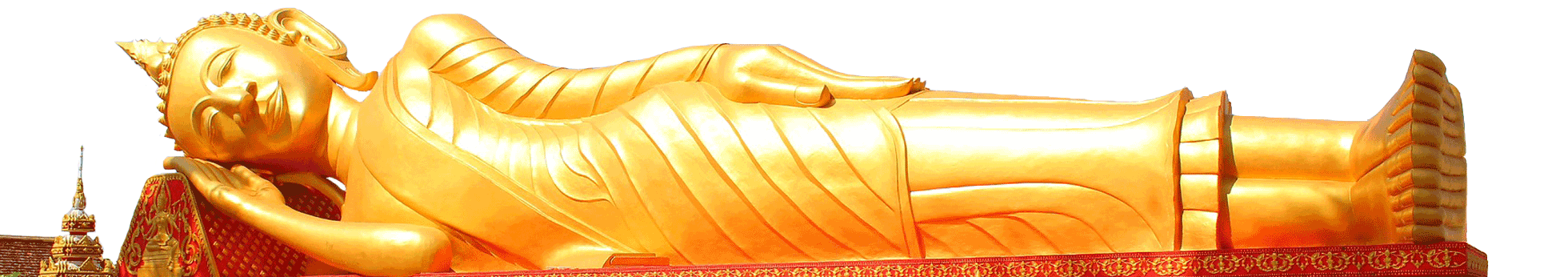 buddha couché Laos