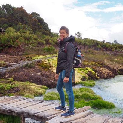 Mivoyagi Laura experte locale Colombie