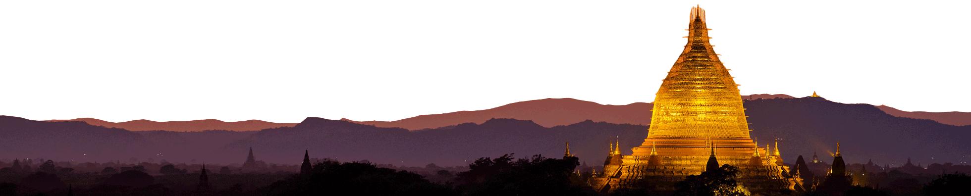 Paysage Myanmar