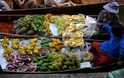 Les marchés de Bangkok et de Thaïlande