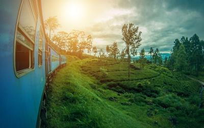 Un Voyage dans le Temps à bord du Train au Sri Lanka