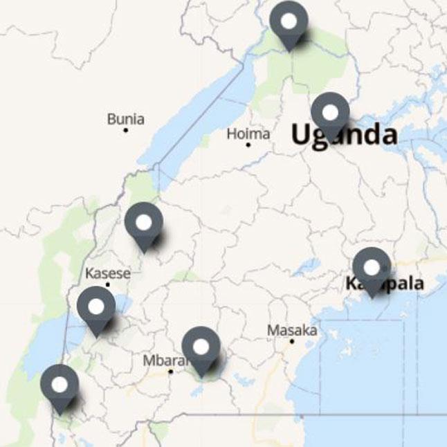 Carte Itinéraire Voyage Ouganda